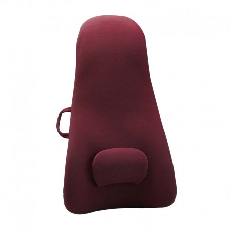 Obus Forme High Back Lumbar Cushion Red
