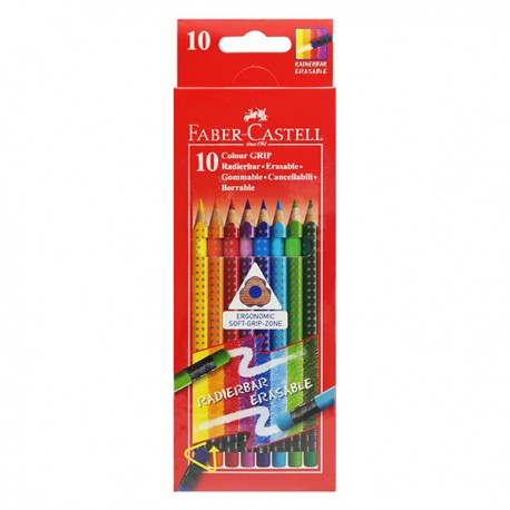 Faber-Castell Erasable Color Pencils 10-Color