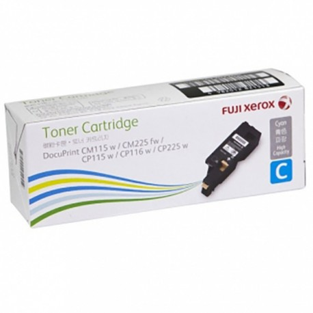 Fuji Xerox CT202265 Toner Cartridge Cyan
