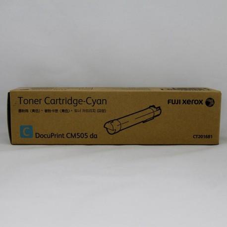 Fuji Xerox CT201681 Toner Cartridge Cyan