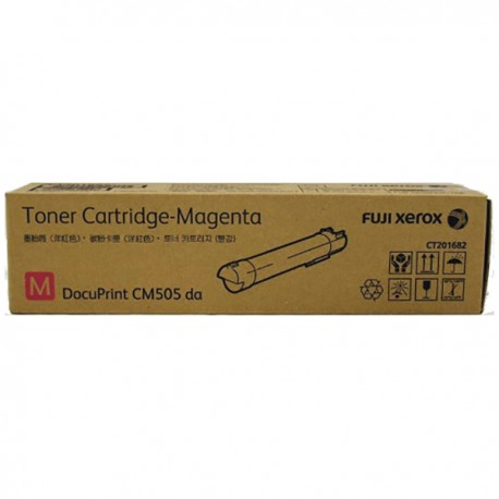 Fuji Xerox CT201682 Toner Cartridge Magneta