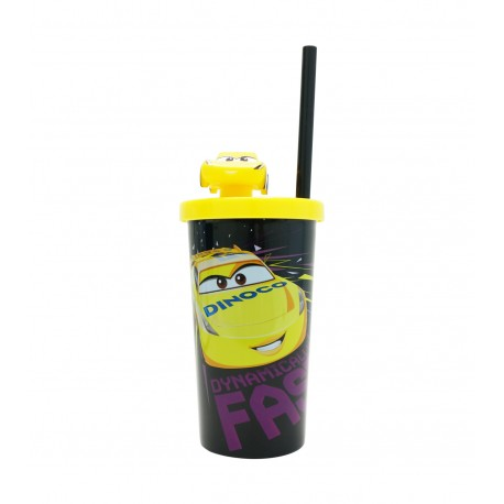 Cars Cruz Tumbler with Straw 410ml