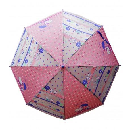 Hello Kitty POE環保膠料自動直身兒童雨傘 58厘米x8骨