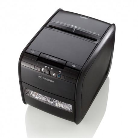 GBC Auto+60X Cross Cut Paper Shredder 4mmx45mm 5Sheets