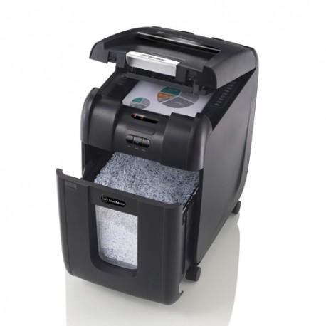 GBC Auto+600X Cross Cut Paper Shredder 4mmx40mm 10Sheets