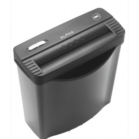 GBC Alpha Ribbon Strip Cut Paper Shredder 7.25mm 6Sheets