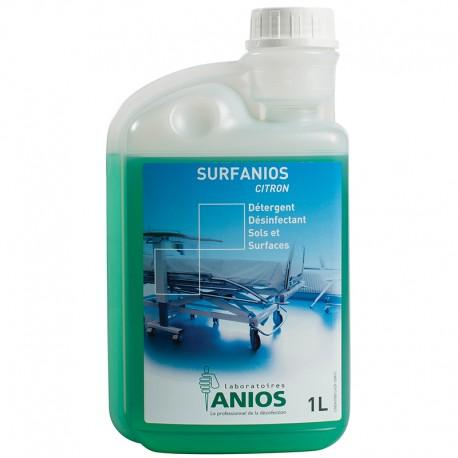Medicom Anios Surfanios Citron Disinfectant Cleaner 1L
