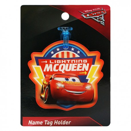 Cars Name Tag Holder 7.8cmWx7.2cmL
