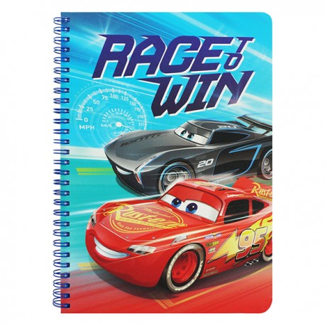 Cars Notebook 17.6cmWx25cmH