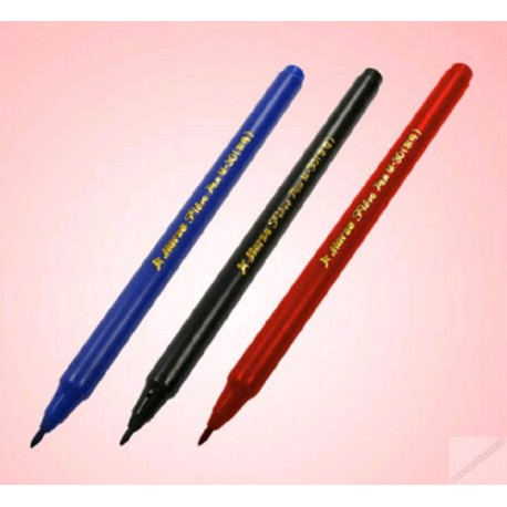 Horse M30 Sign Pen Red