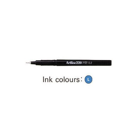 Artline 220 Sign Pen Blue