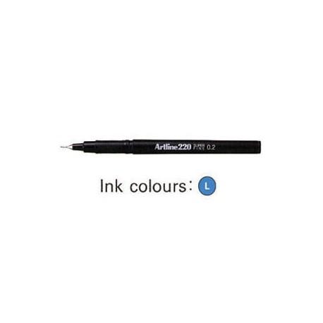 Artline 220 Sign Pen Blue