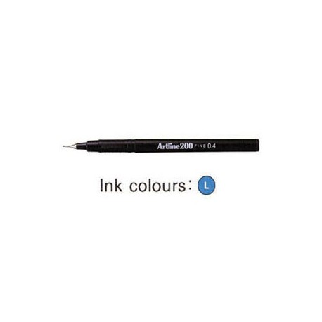 Artline 200 Sign Pen Blue