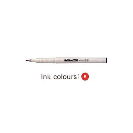 Artline 210 Sign Pen Red