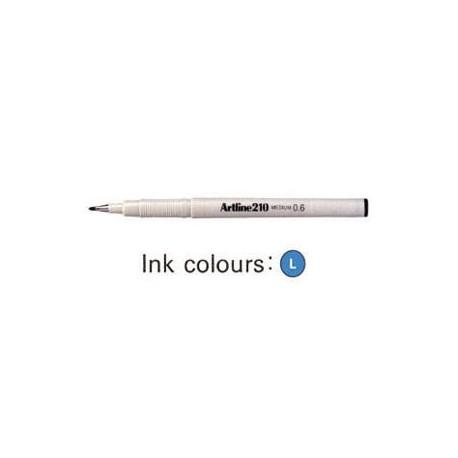 Artline 210 Sign Pen Blue