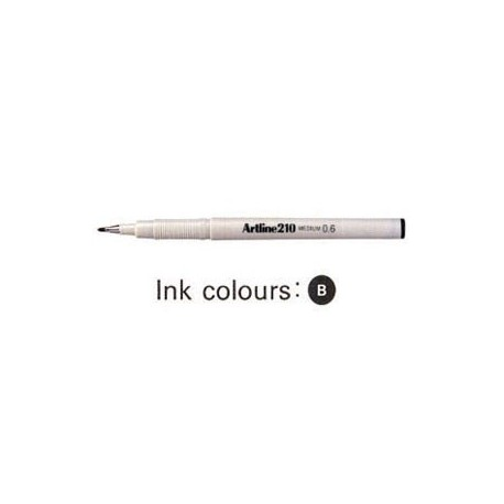 Artline 210 Sign Pen Black