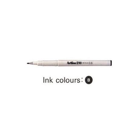 Artline 210 Sign Pen Black