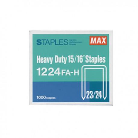 Max 美克司 1224FA-H 23/24 釘書釘 24亳米 1000枚