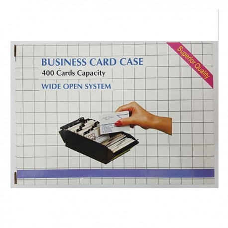 Manok 540 Name Card Case 400's Black