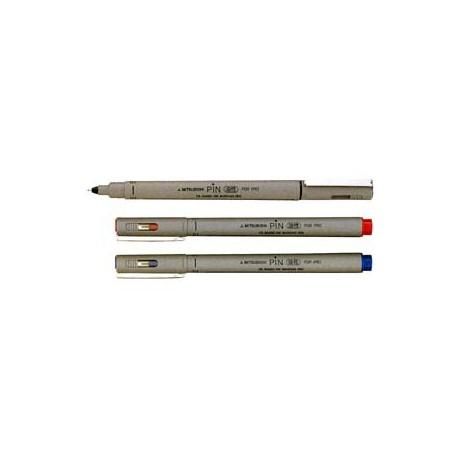三菱 PIN-03 繪圖筆 0.3毫米 紅色