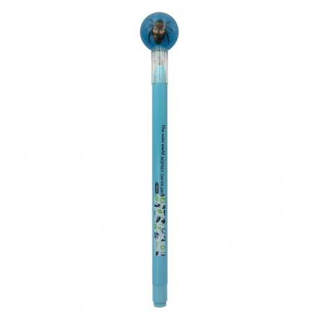 Insects Gel Pen Chafer Flat Blue