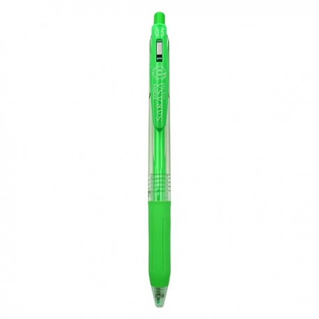 Zebra Gel Pen Neon Color Green/orange/Pink/Purple/Yellow