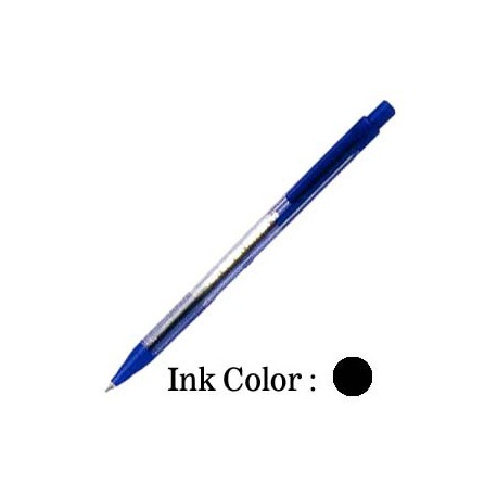 Pilot Superknock 80 Fine Retractable Ball Pen Black/Blue/Red汙
