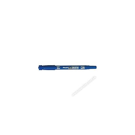 Pilot SCA-TM 2-in-1 2-Head Permanent Marker 0.5mm-1mm Blue/Red