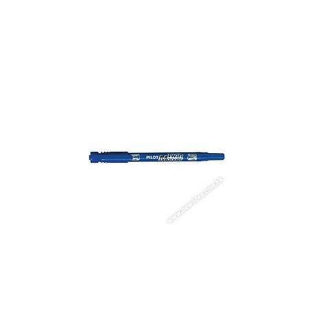 百樂牌 SCA-TM 二合一雙頭油性箱頭筆 0.5毫米-1毫米 藍色/紅色