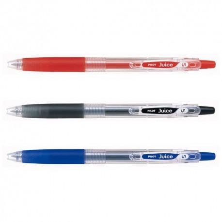 百樂牌 LJU-10EF Juice 按掣式啫喱筆 0.5毫米 黑色/藍色/紅色