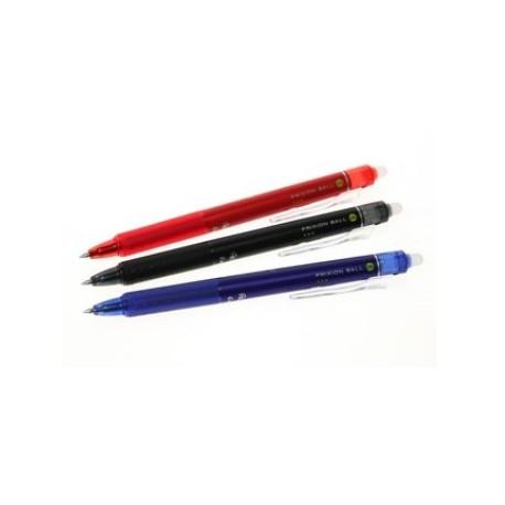 Pilot Frixion Ball Clicker LFBK-23EF Retractable Ball Pen 0.5mm Black/Blue/Red/Purple