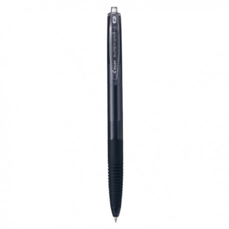 Pilot BPGG-F Super Grip Retractable Ball Pen 0.7mm Black/Blue/Red