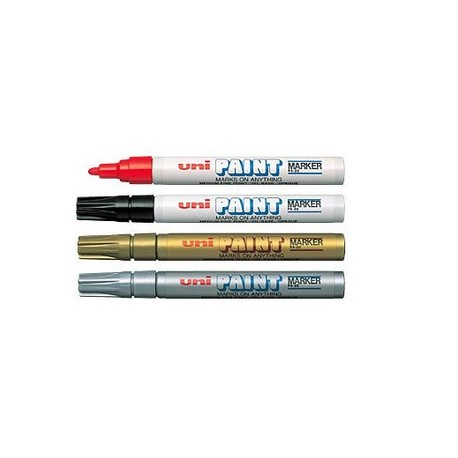 Uni PX-20 Paint Marker Black/Blue/Red/Green/Golden/Silver/White