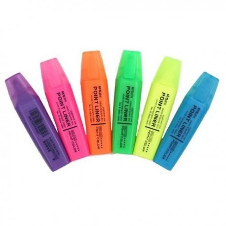 晨光 MG-2150 經典螢光筆 藍色/綠色/黃色/紅色//紫色橙色