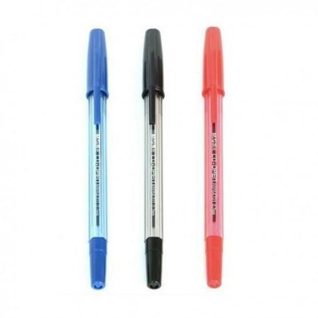 晨光 ABP-64701 拔蓋式原子筆 0.7亳米 黑色/藍色/紅色