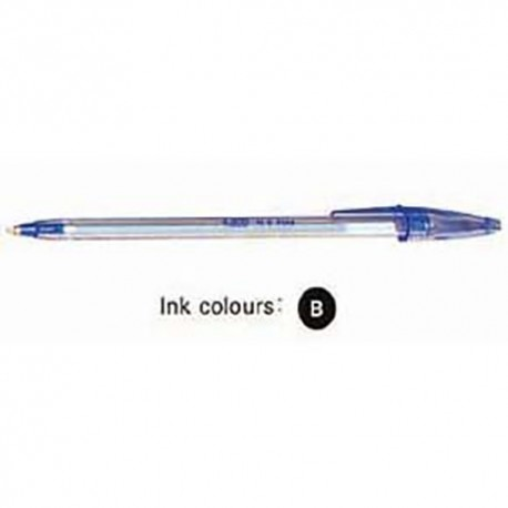 Bic N.S. Fine Ball Pen Black/Blue/Red