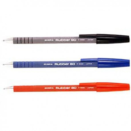Zebra R8000 Ball Pen Black/Blue/Red