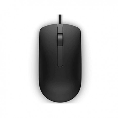 Dell MS116 Wired Optical Mouse - Black