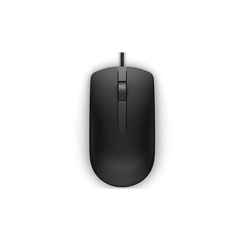 Dell MS116 Optical Mouse - Black