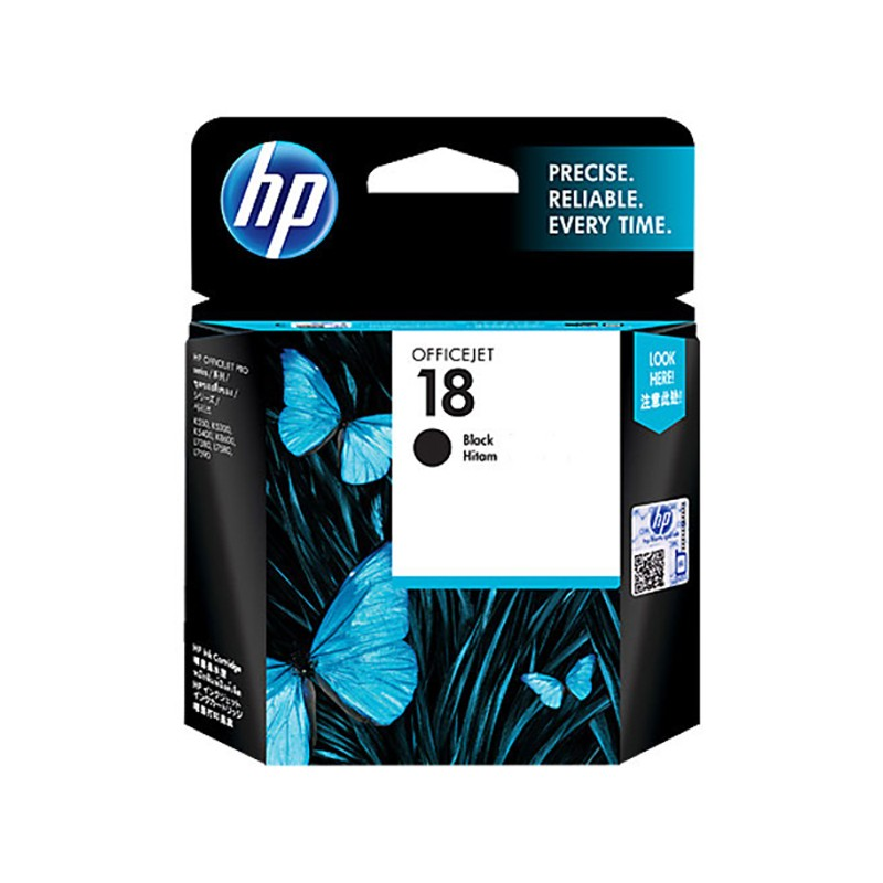 HP C4936AA 18 Black Original Ink Cartridge