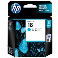 HP C4937AA 18 Cyan Original Ink Cartridge