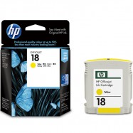 HP C4939AA 18 Yellow Original Ink Cartridge