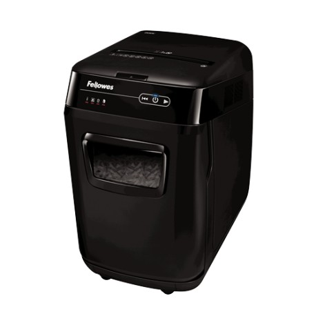 Fellowes AutoMax 200C Cross Cut Shredder 3.8mmx40mm 10Sheets