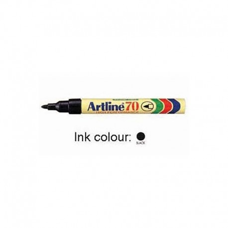 Artline 70 Permanent Marker Bullet Black/Blue/Red/Green/Orange/Purple/Brown