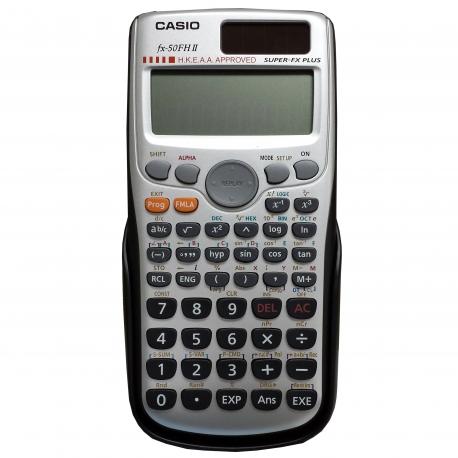 Casio 卡西歐 FX-50FH II 科研計算機 10位