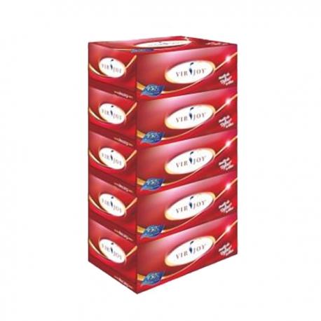 Virjoy 唯潔雅 盒裝面紙 5盒
