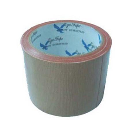 EGO 布質牛皮膠紙 3吋x10碼 啡色