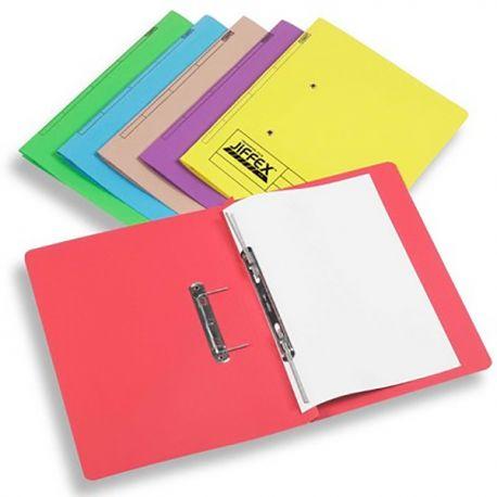 Rexel 紙質彈簧文件套 F4 米/灰/藍/綠/橙/粉紅/紅/黃色