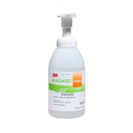 3M Avagard 9321A 快速殺菌 免過水消毒搓手泡沫 500亳升