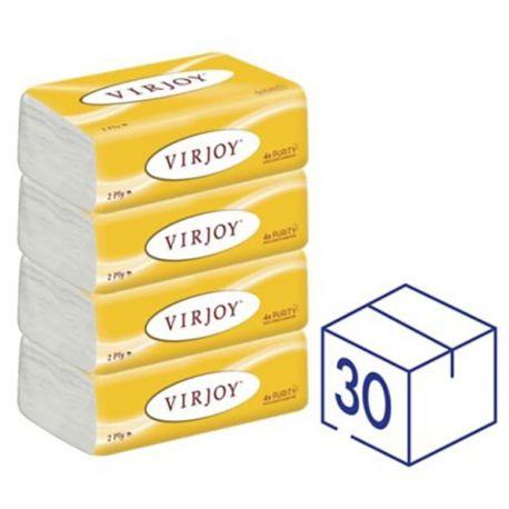 Virjoy 唯潔雅 2層 軟包紙巾 30包